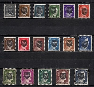 Occupation Germany Hitler Lot Local Private Mnh Original Stamps #22