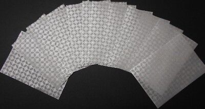 Vellum Sheets *CIRCLES* x 12 - 15cm x 10.5cm - Cards - Invitations- Scrapbooking