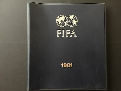 FIFA -  1981.agenda FIFA´s Chief Press and Public Relations Officer.