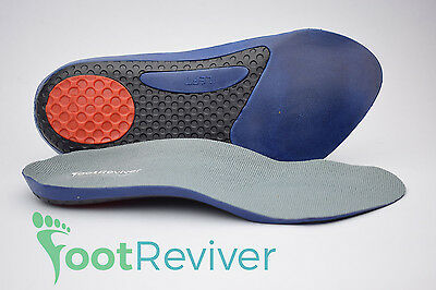 FootReviver™ 3/4 Orthotic Insoles Arch Support Pronation Fallen Arches Flat Feet