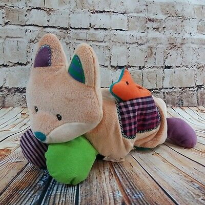 Mary Meyer Natural Life Baby Love you Forever Fox Activity Plush Toy Rattle