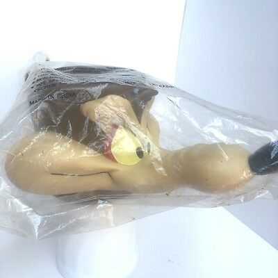 Looney Tunes WILE E COYOTE Figural 3D Plastic Cup 1992 Warner Bros. with Wrapped