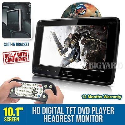 "10.1"" 1024x600 HD HDMI Digital TFT-LCD Stereo DVD Player In-Car Headrest Monitor"