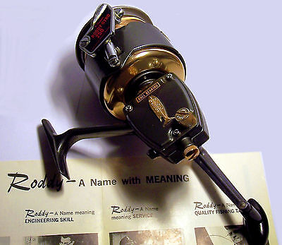 VINTAGE 1964 # Roddy Gyro 250 Bail-less Fishing Spinning Reel MINT *NEVER USED*