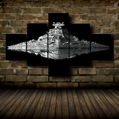 HD Print on Canvas Painting Art Modern Home Decor Star Wars 1-5 Pcs Pictures