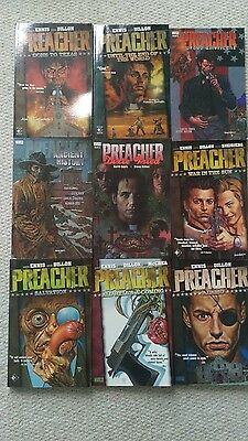 Preacher graphic novels- complete collection