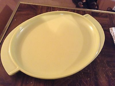 Boonton 14 1/2 inch platter made in New Jersey number 606