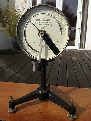 Vintage Scientific Equipment - Torsion Balance - Made in England