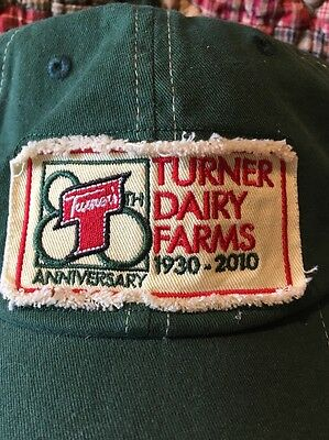 Turner's PIttsburgh Dairy farms Milk Hat Cap  NOS New