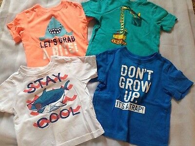 Lot of 9 Toddler Boys Short Sleeve Shirts Childrens Place 18-24 months