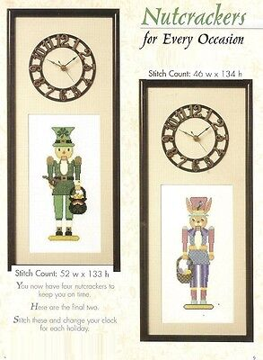 Leprechaun And Bunny Nutcrackers  -   Cross Stitch  Pattern     Hm - Wyq