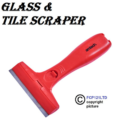 Glass and Tile Scraper Paint Remover *** with 6 Blades *** BRAND NEW