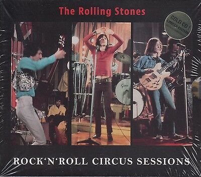 """THE ROLLING STONES """"ROCK 'N' ROLL CIRCUS SESSIONS"""" (3 CD's + DVD BOX SET)"""