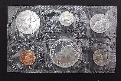 1964 Uncirculated Canadian Coin Set  C6892