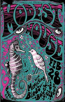MODEST MOUSE reprint  poster 11 X 17