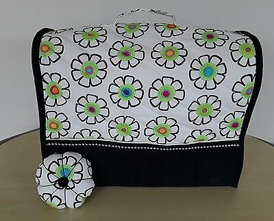 ☆High quality quilted sewing machine dust cover and matching pin cushion☆