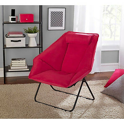 Terrific Folding Saucer Moon Hexagon Chair Cozy Comfort Seat For Tv Pdpeps Interior Chair Design Pdpepsorg