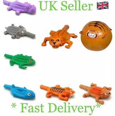 Funny Balloon Ball Buddies Animal Balloon Elephant Tiger Lion Hippo Fish Frog UK