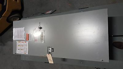 Asco 600 amp 480 volt 60 Hz 3 phase series 300 automatic transfer switch