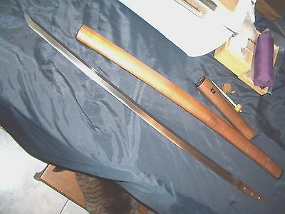 ANTIQUE JAPANESE SAMURAI SWORD MUROMACHI PERIOD KATANA in Shirasaya