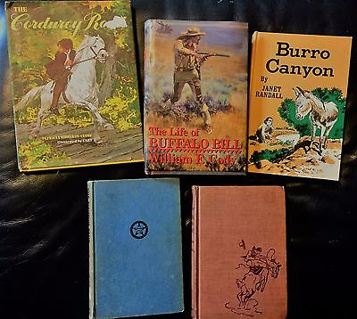 Lot of 5 Cowboy Books     Resellers Look!
