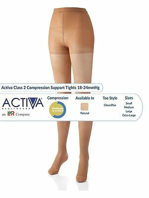 Activa Tights Support Stockings Varicose Vein Circulation Compression DVT Sock