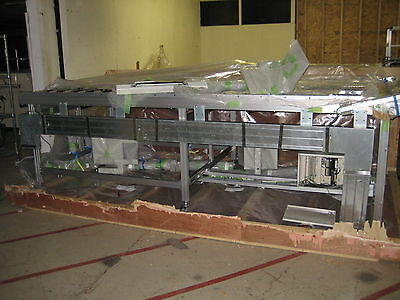 """138""""x55"""" New Conveyor  Pre Wired With Keyence Light Curtains & Full Controls"""