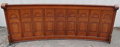 Antique Quartersawn Tiger Oak Raised Modesty Panels Church Pews Philadelphia #2