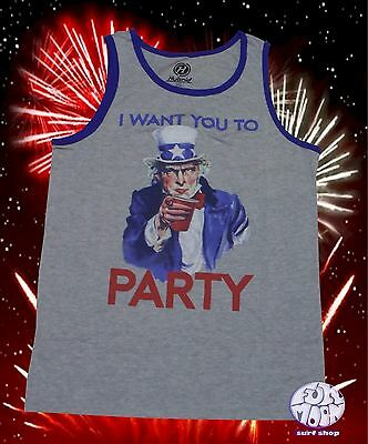 6203b78895ec4 VANS NEW FOURTH Of July Brew-ly Men s Tank Top T Shirt Size Medium ...
