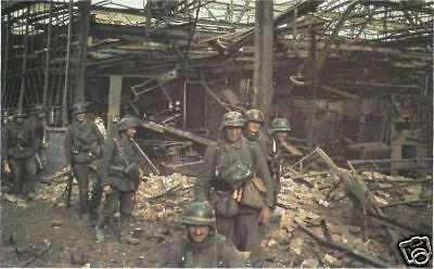 COLOR WWII Photo German Soldiers Eastern Front  WW2 Wehrmacht World War Two 2094