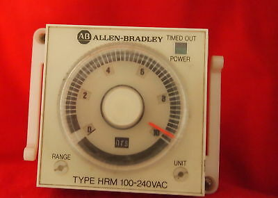 Allen Bradley 700-Hrm12Ta17 On Delay Timing Relay Ser A