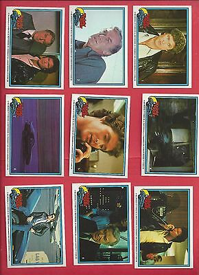 1982 DONRUSS Knight Rider complete set of 55 nm to mint