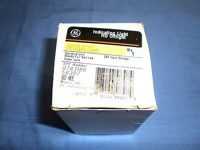 GE Green Indication Light HD Oiltight CR104PLG88G NIB