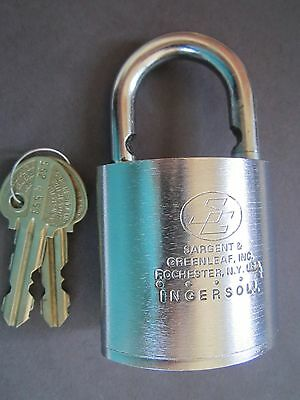 Sargent and Greenleaf (S&G) Padlock