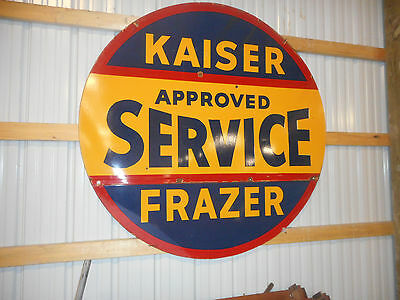 Kaiser frazer Approved service sign