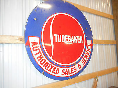 Studebaker Authorized sales and  service sign