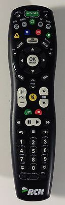 RCN CABLE TV Universal Remote Control 2025B1-X1 - Cleaned, Tested and  Working