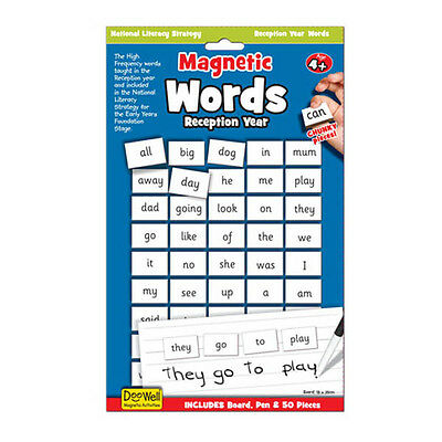Magnetic Words and Reading Board - Kindergarten and Prep