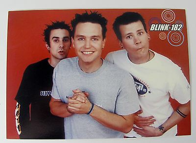 Blink 182 Photo Collectible Retro Vintage Art Print Music Rock Band Postcard