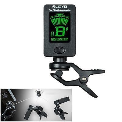 New Clip-on LCD Digital Chromatic Electronic Guitar Tuner Bass Violin Ukulele WS