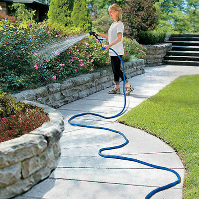 Expanding Hose Bungee Style,Collapsible Expandable Hose With 8 Functions Sprayer