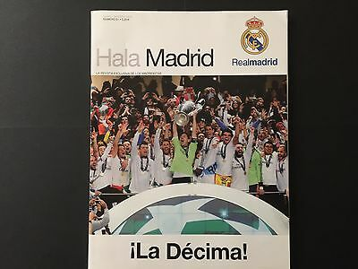 2013-2014.Champions League.Final.R.Madrid-At.Madrid.Official magazine R.Madrid