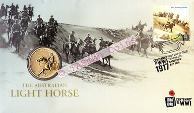 Australia - 2017 - Australian Light Horse Centenary of WW1 PNC/FDC - Limited Ed