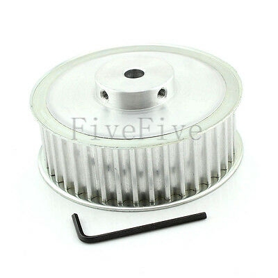 HTD8M 40T 8mm-20mm 1/2'' Bore 32mm Width 8mm-Pitch Timing Belt Drive Pulley