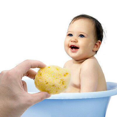 Natural Greek FINA SILK EXTRA SOFT Sea Sponge PREMIUM Quality BABY BATH 3.5- 4''