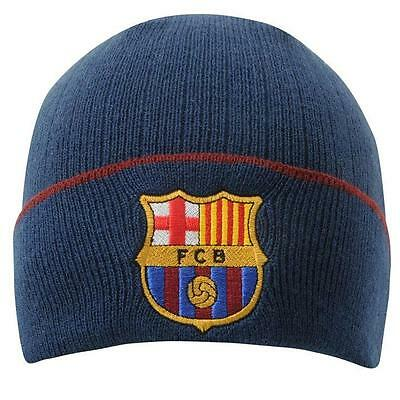 Barcelona FC Supporters Football Beanie Support Your Soccer Team Official Merch