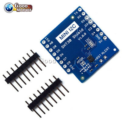 SHT30 Shield for Wemos D1 Mini ESP8266 WIFI module with unsoldered header pins