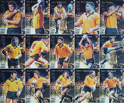 1995 Wallabies Australia Rugby World Cup XV Cards (15)