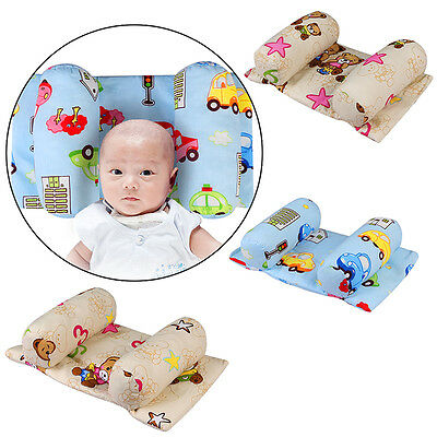 Soft Baby Pillow Infant Newborn Anti Flat Head Syndrome for Crib Cot Bed Sleep