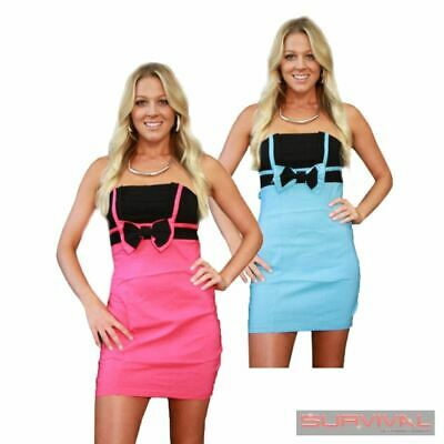 New Evening Mini Cocktail Dress Sexy Womens Size 6 8 Party Club Hot Strapless